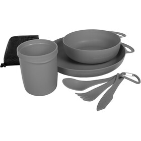 Sea to Summit Delta Set de vaisselle pour camping, grey